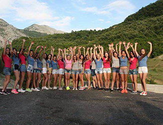 Miss Albania 2015 in Skrapar