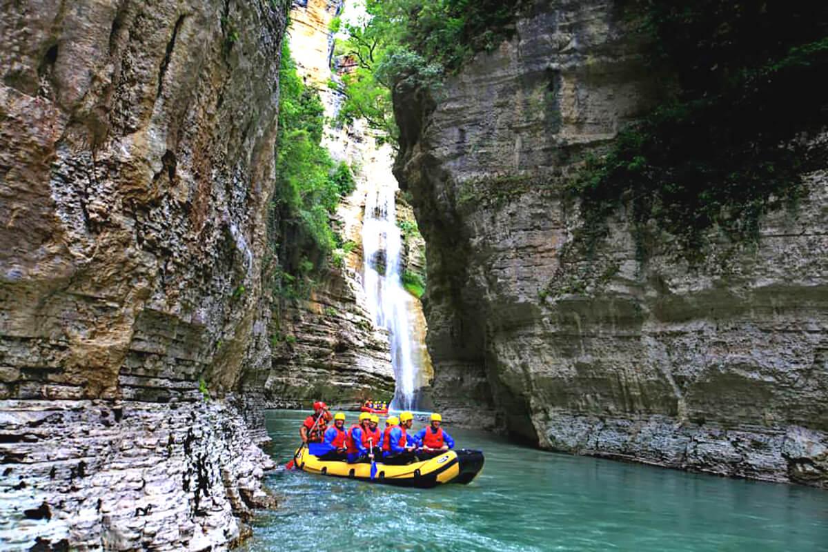 Kanionet e Osumit, Rafting