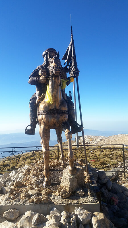 Trail Abaz Ali, Tomorr