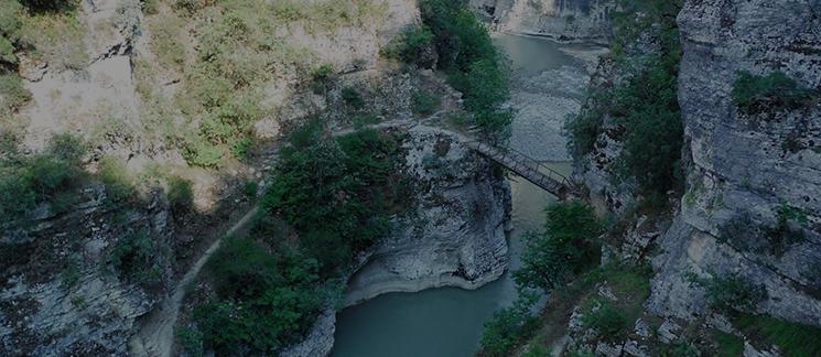 Kanioni i madh i Shqiperise